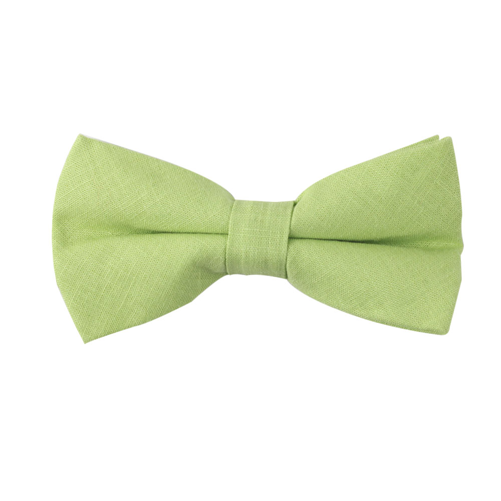 Lime Green Bow Tie Groomsmen