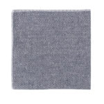 Navy Blue Herringbone Pocket Square Wedding Grooms
