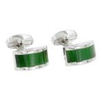 Emerald Green Wedding Cuffllinks