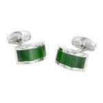 Emerald Green Wedding Cuffllinks for Men