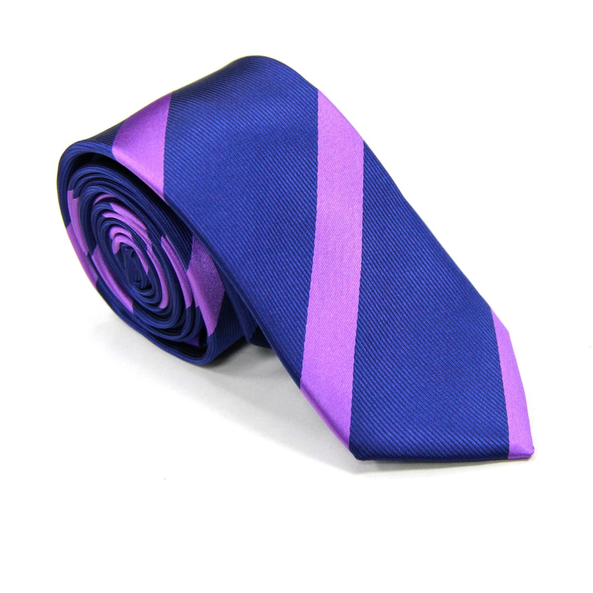 Purple Stripe Navy Tie for Men Ties Online