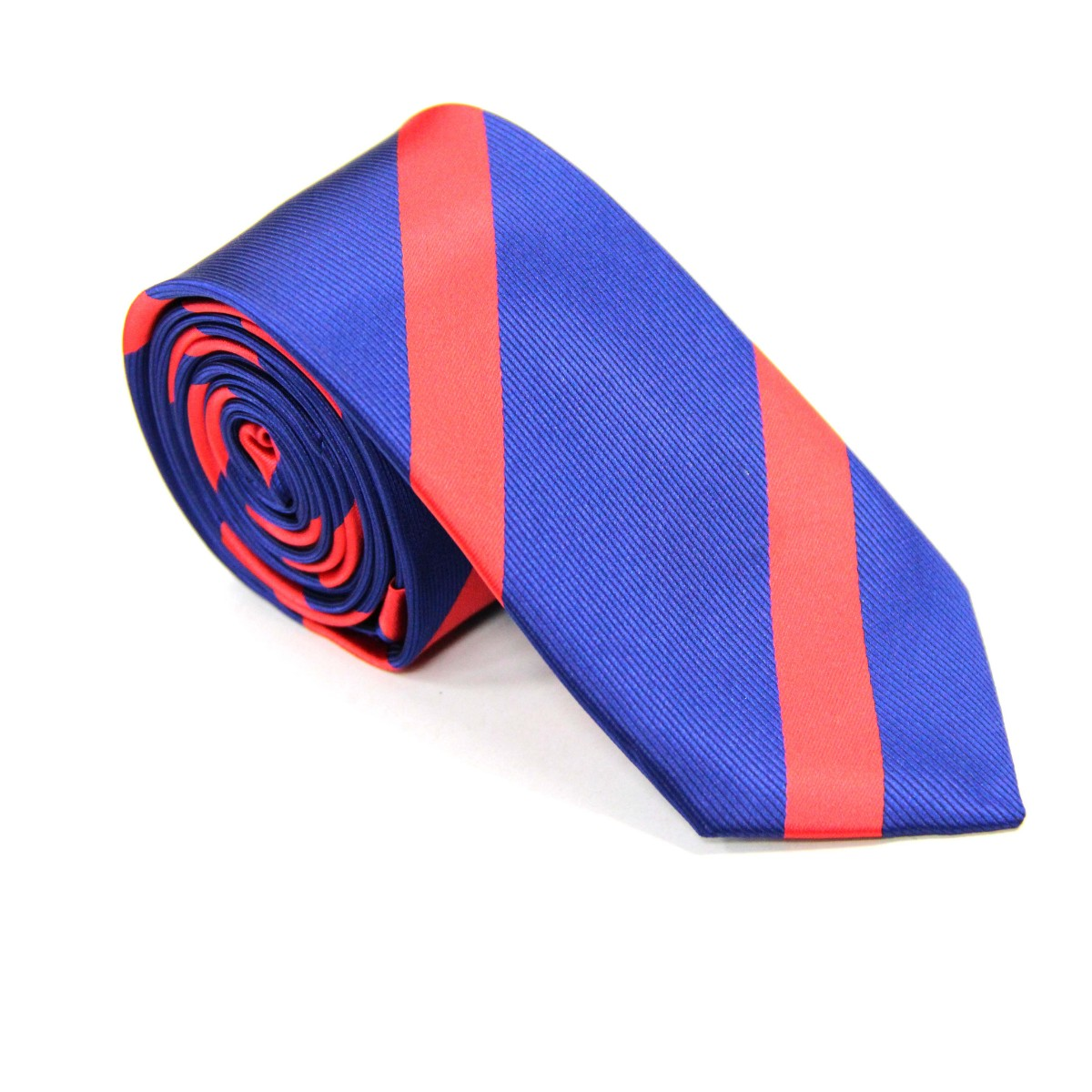 Red Stripe Navy Tie for Men Ties Online
