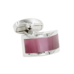 Pink Stone Cufflinks for Men Australia