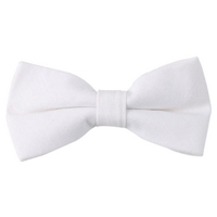 Classic White Bow Tie