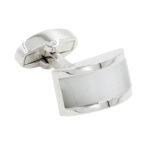 White Cufflinks for Weddings