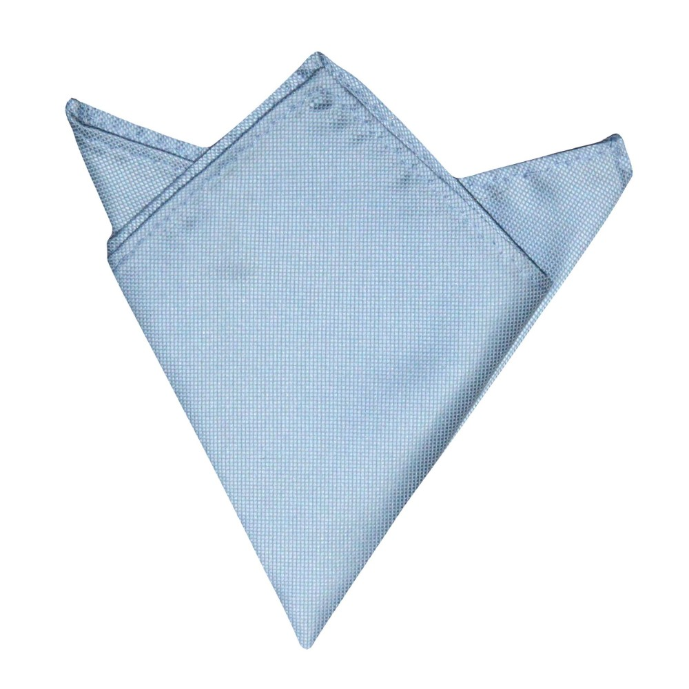 Light Blue Pocket Square for Him