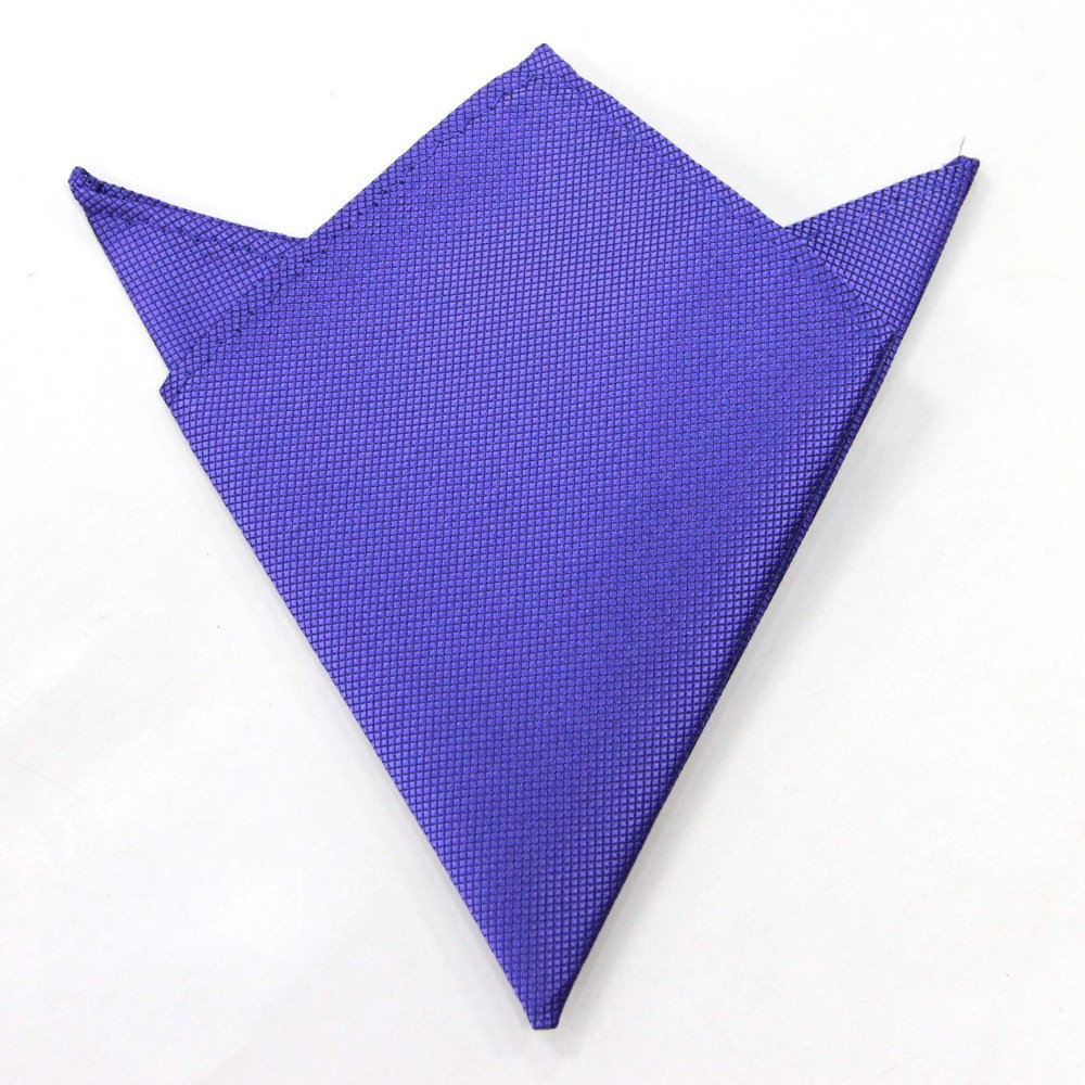 Purple Pocket Square for Groomsmen