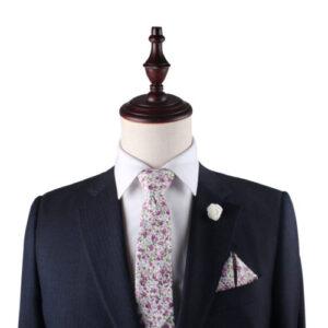 Floral Skinny Tie