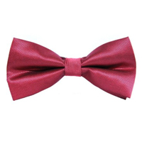 solid coloured bow ties