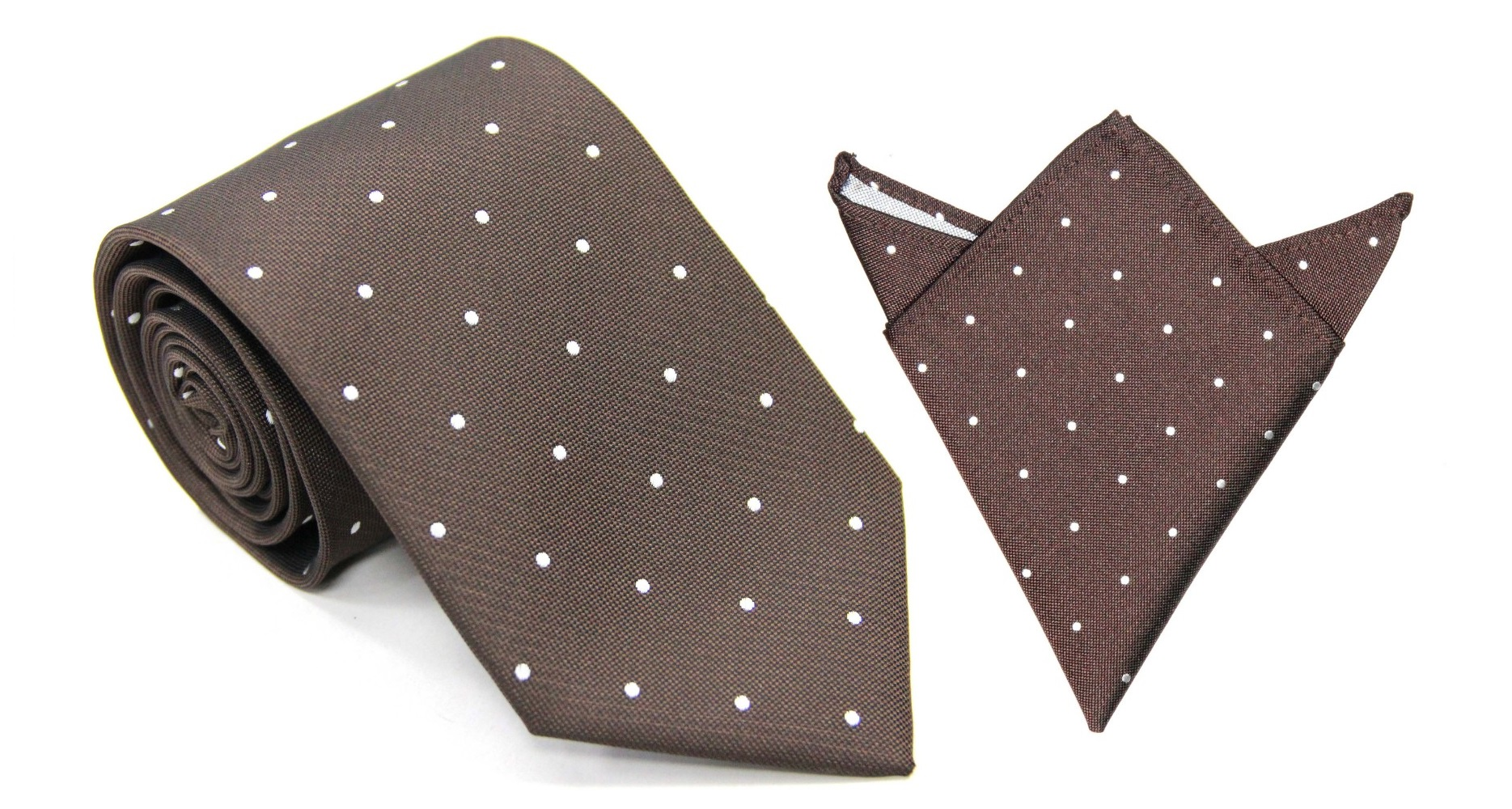 Matching Tie & Pocket Square Set