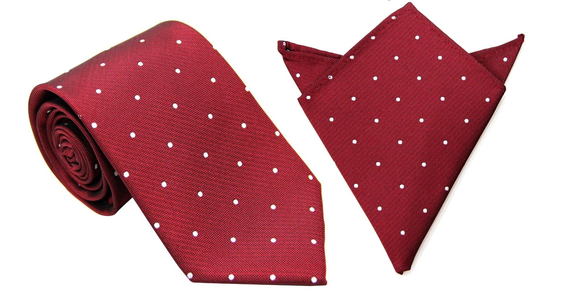 Matching Tie & Pocket Square Set