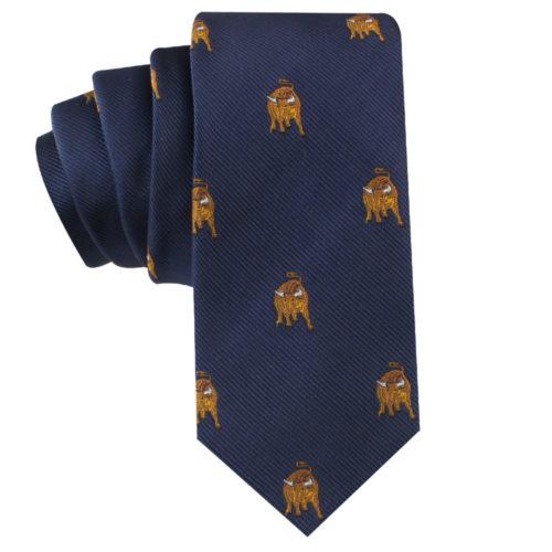 Wall Street Bull Tie for Wedding